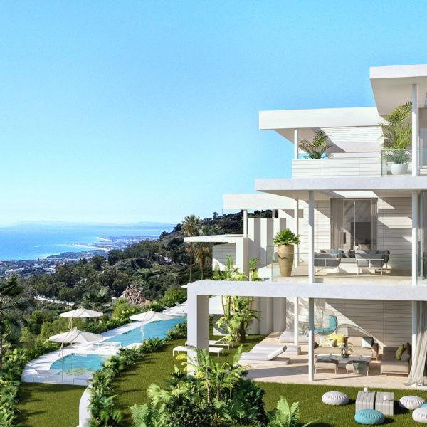 Palo Alto Marbella Apartments Gibraltar view