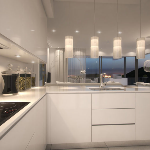 Fully installed kitchen Palo Alto Apartments