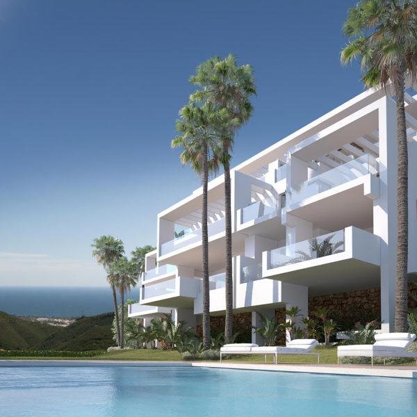 Palo Alto Apartments Marbella 'Los Almendros' - Poolview
