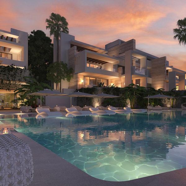 Palo Alto Apartments Marbella 'Los Pinsapos' swimmingpool